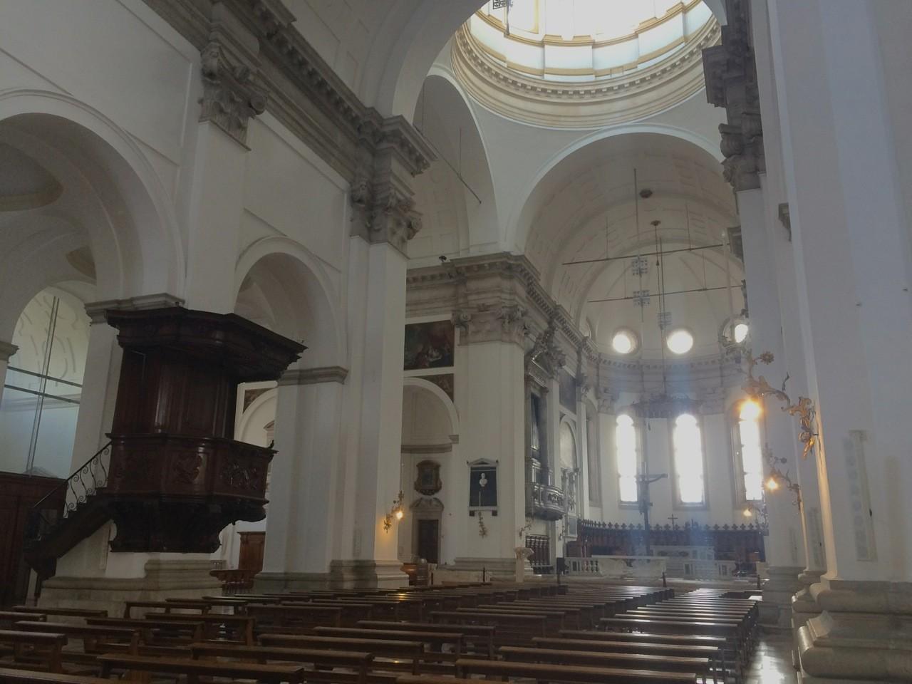 Chiese Romantiche Padova Duomo Di Padova Interni