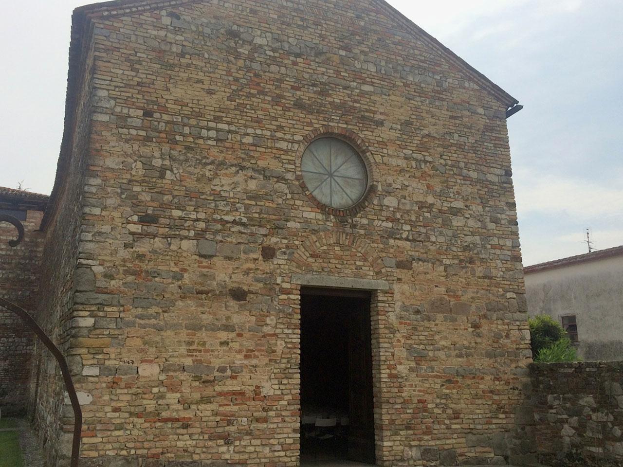 Chiese Romantiche Padova Oratorio Santa Croce Esterni