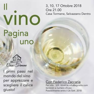 Corso di degustazione vini a Padova