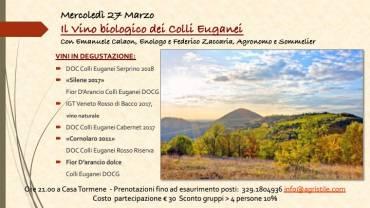 Vini biologici dei Colli Euganei, scoperta e degustazione
