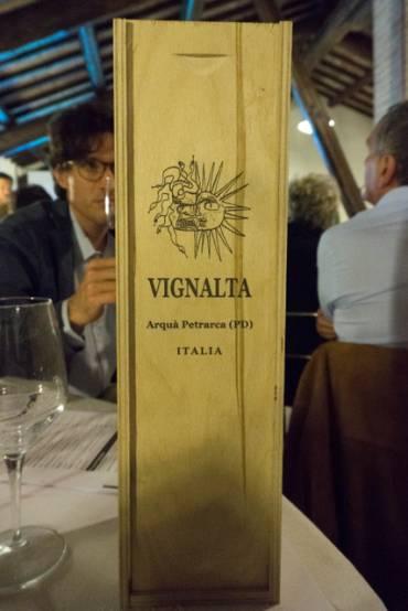 Degustazione vini Vignalta a Casa Tormene