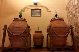 Degustazioni a Casa Tormene - vini in anfora