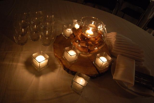 lanterne centrotavola tema vino - Casa Tormene