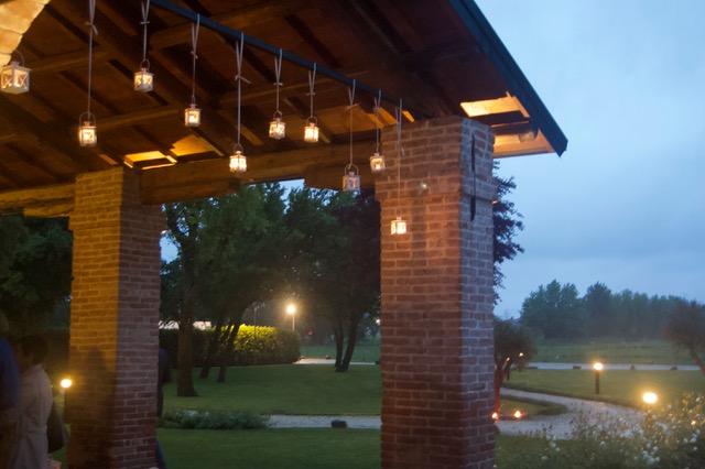 Lanterne Casa Tormene villa per feste 50 anni padova