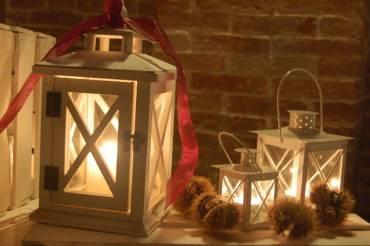 Lanterne centrotavola, un tocco romantico