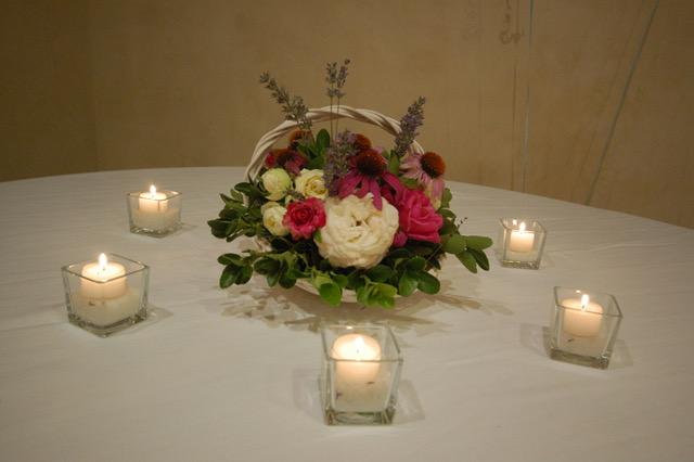 addobbi floreali per eventi serali