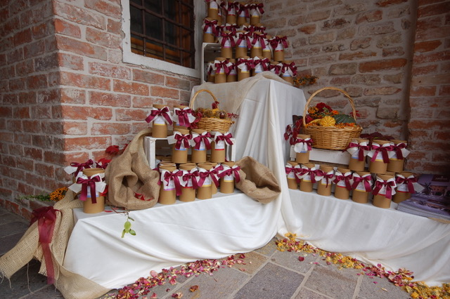 Bomboniere per matrimonio in autunno Agristile