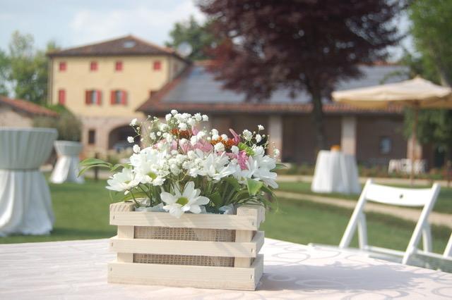 location piena di fiori a Padova