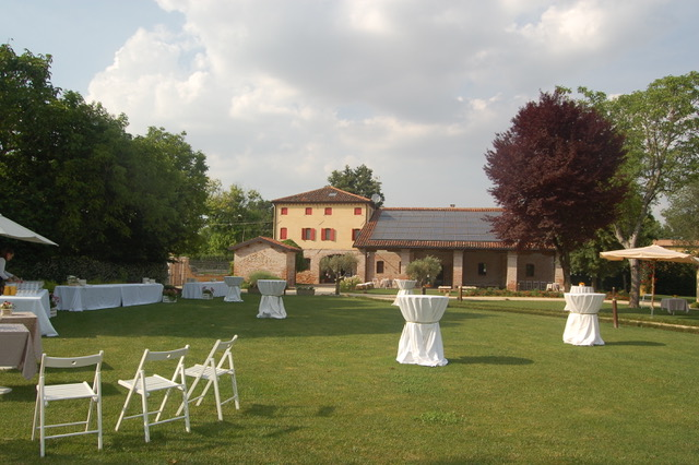 giardino per matrimonio Casa Tormene