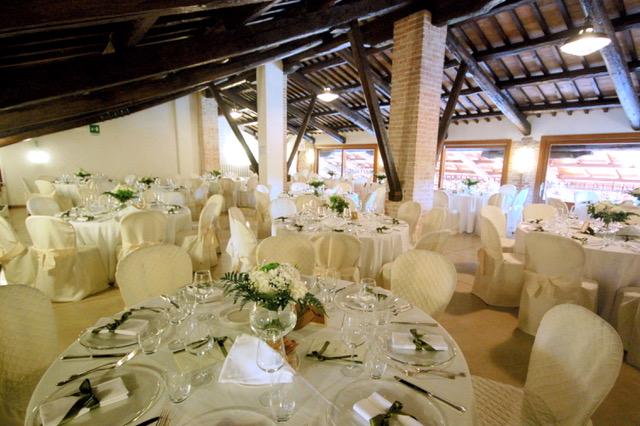Sala da Pranzo Matrimonio a Casa Tormene